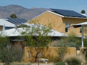 cohousing esterno e tetti pannelli