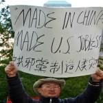 Operai in sciopero in Cina
