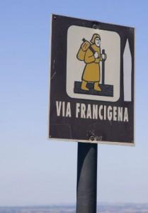 segnaletica via francigena