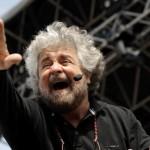 Beppe Grillo da Vespa