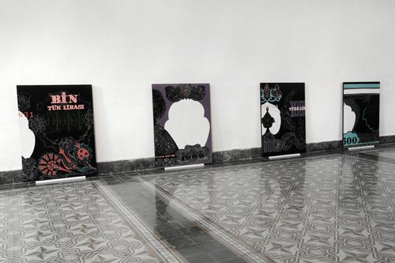 mostra Istanbul artista italiano 03