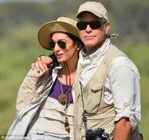 George Clooney e Amal Alamuddin matrimonio