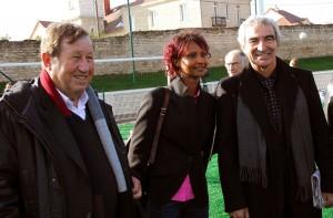 Guy Roux, Safia Otokoré e Raymond Domenech