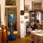 Lea Mina Ralli e il robot Mister Robin