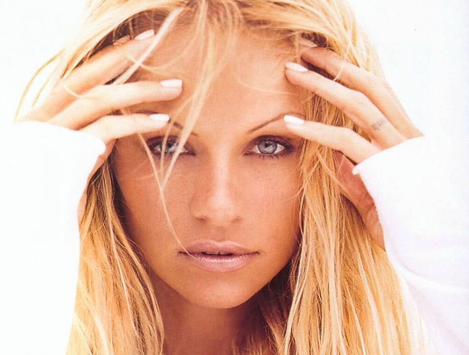 Pamela Anderson primo piano
