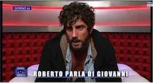 Roberto in confessionale