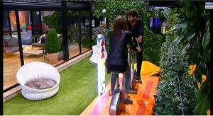 Roberto e Chicca pedalano
