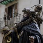 cocullo San Domenico Abate ricoperto di Serpenti vivi