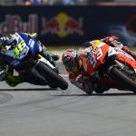Valentino Rossi e Marc Marquez facebook