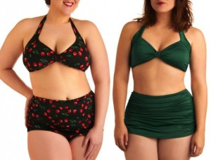 Bikini per donne curvy, i consigli sul costume da bagno ideale ...