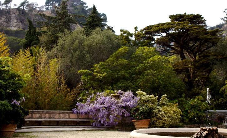 Giardini inglesi ad alassio riaperti i giardini di villa for Giardini villa della pergola