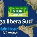 manifesto Lega Nord libera il sud