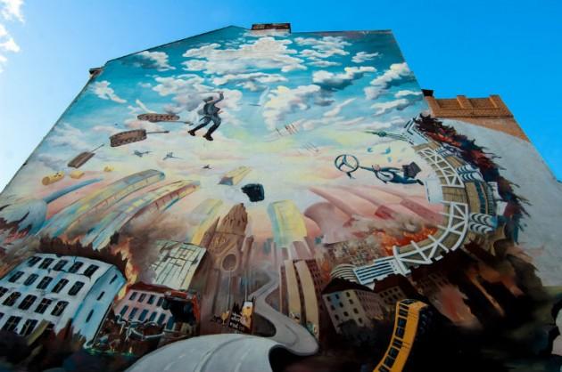 Milano news comune concede muri liberi per street art e murales urbanpost - Sculptures metalliques murales ...
