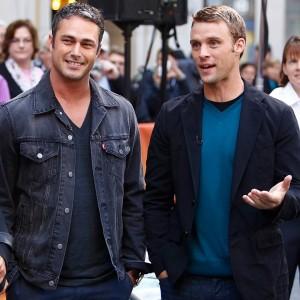 Chicago fire cast Kinney e Spencer