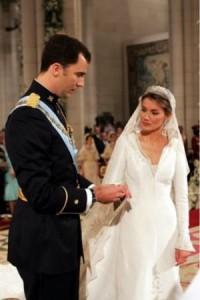 Felipe di Borbone - Letizia Ortiz matrimonio
