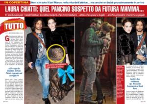 Laura Chiatti incinta
