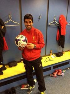 Luis Suarez facebook