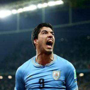 Luis Suarez nazionale Uruguay