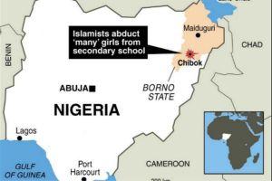 Nigeria cartina geografica