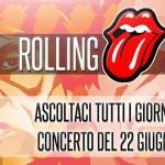 R101 concerto Rolling Stones