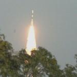 Razzo indiano nello spazio