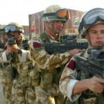 Soldati britannici in sovrappeso