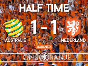 The Netherlands football team facebook2
