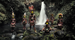 Tribù di indigeni in amazzonia