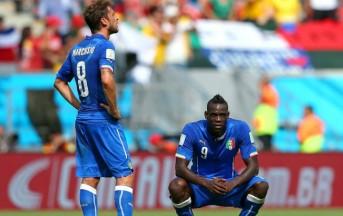 Italia Uruguay Mondiali 2014: Suarez, Balotelli e nervosismo