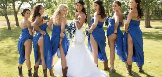 size 40 bfd01 65b25 Lato B scoperto per spose e damigelle, l'ultima tendenza ...