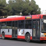 donna aggredisce autista bus