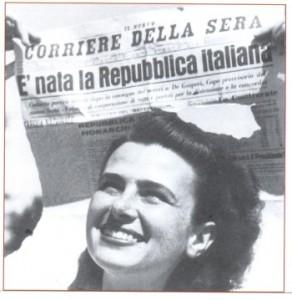 corriere della sera titolo del 2 giugno 1946