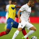 mondiali brasile 2014 benzema ecuador francia
