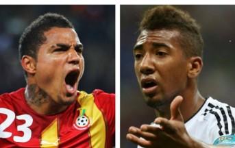 Boateng fratelli contro, Germania e Ghana è una saga famigliare