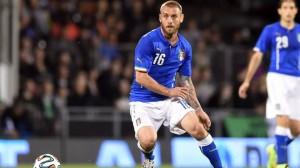Daniele De Rossi salta Italia Uruguay