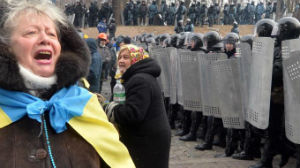 kiev scontri