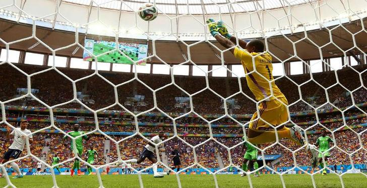 ottavi di finale francia nigeria