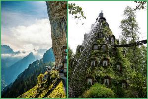 Äscher Cliff - Switzerland &   Monatana Magica Lodge Chile.