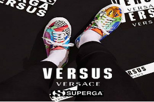 Versus Versace and superga collectable collection  AI 2015