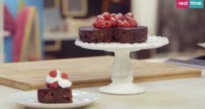 torta cioccolato e lamponi benedetta parodi