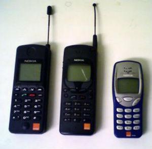 vecchi telefoni cellulari