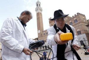 apparizione Galileo Pisa ghostbusters