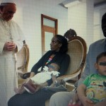 Papa Francesco incontra Meriam