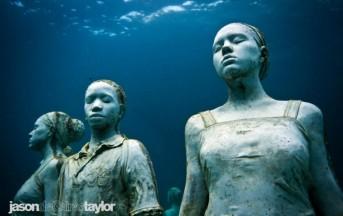 Sculture subacquee in Messico: Jason deCaires Taylor e la magia di una a foto ricordo sott'acqua
