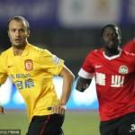 Gilardino segna il primo gol in Cina