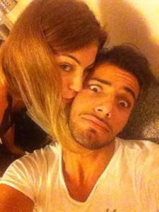 Aldo e Alessia crisi Facebook