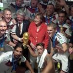 Selfie Angela Merkel