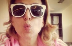 Barbara D'Urso selfie