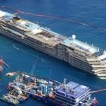 Costa Concordia ormeggio concluso