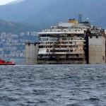 Costa Concordia arrivo al porto di Genova